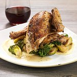 SLOW-ROASTED HALF CHICKEN