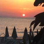 Had a fab meal here in July 2017.  The sunset was magnificent and the food matched.  The staff w