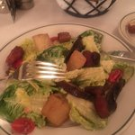 S & W salad (tasty thick pieces of bacon)