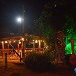 Our Gazebo at night