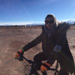 Fuimos con nuestro guía en bici hasta el salar! hermosa experiencia y las bicis excelentes