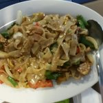 Drunken Noodles has almost no sauce and was very bland.