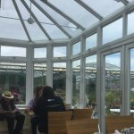 The dining area conservatory