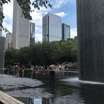 Crown Fountain Foto