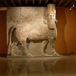 The Yelda Khorsabad Court, with the 40-ton lamassu (winged, human-headed bull), ca. 721-701 BC