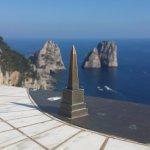 Obelisc and Faraglioni