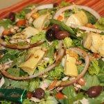 Mediterranean Traveler Salad