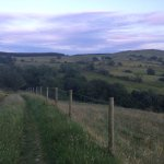 view from path nearby b&b