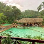 Thermal pool & swim-up bar