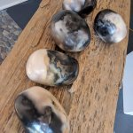 Brand new kiln load of Ouami stones. Stop in this weekend for pick of the litter!