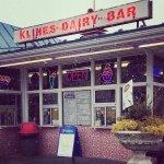Kline's Dairy Bar in the Winter