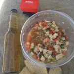 Amazing day and amazing conch salad!