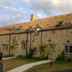 Rooms are in converted stable block. Tastefully converted.