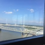 Ohio River view from room