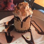Huge desert- Mile high mud pie!!
