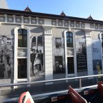 The exterior of the District Six Museum (from the top level of the Hop On/Hop Off bus!)