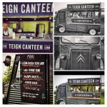 The Teign Canteen, the mobile part of the business