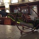Nice wine cradle.