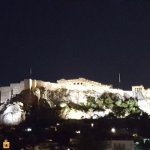 This was the view of the Acropolis from our room