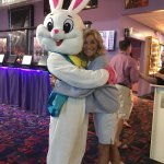 Mom and the Easter bunny'🐰🌷