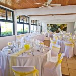 Wedding Reception Setup at SilverSands Restaurant
