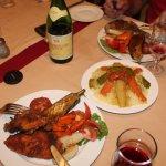 poulet moutarde couscous et entrecote au romarin