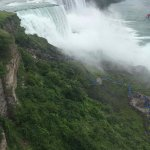 Here is a view of the falls