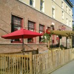 Patio licenced noon to 10pm - try one of our unique cocktails!