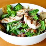 Fattoush Salad with Chicken Tawook