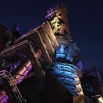 Steel Stacks at night