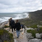 The walkway up to the top of the point above the Cape of Good Hope