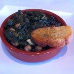Espinacas con Garbanzos - special