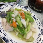 Sauteed Cod Fillet with veggies