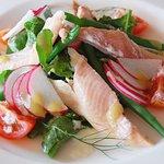 Smoked Trout & Arugula Salad