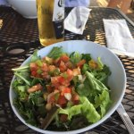 The salad was one of the most flavorful I've ever had,  crisp, fresh and fabulous