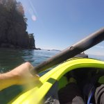 GoPro shot on the Kayak tour