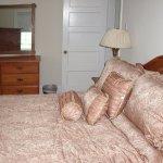 Master bedroom in Suite A