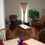 Living Room in Suite B