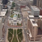 Saint Louis view from the arch