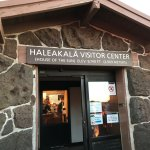 This is the visitor center on top of Mt. Haleakala.
