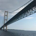 Going under the bridge!