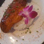 Meh- Crispy Red Snapper Served with a Spicy Chile Sauce and a side of Jasmine Rice