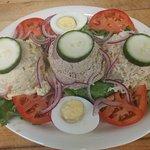 Tuna cold platter