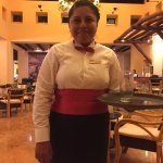 This is Daysi, the very attentive and kind waitress that took care of us the majority of the day