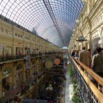 GUM Department store next to Red Square