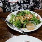 Beet Salad with Shrimp