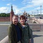 On the bridge to Red Square