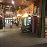 One of the shopping areas in the giant Wall Drug building