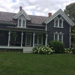 Mill Race home with lacy trim