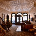 The DeSoto lobby, the Spanish Skillet and Sunday brunch in the Courtyard